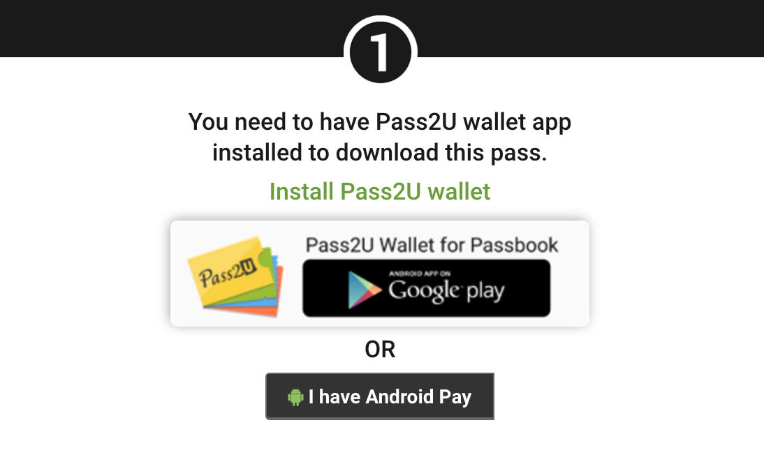 Passworks - Creating Android Pay Mobile Passes